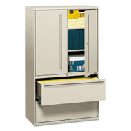 "HON 700 Series 36"" Metal Lateral File Cabinet with Storage - 785LS"