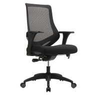 Eurotech by Raynor Astra Mesh High-Back Chair - MF2000BLK