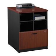 """Bush Business Furniture Series A Storage Cabinet 24"""" Hansen Cherry - WC94423P"""