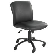 Safco Uber Big and Tall Mid Back Chair no Arms - 3491