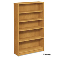 HON 1870 Series Square Edge Bookcase 5-Shelves - 1875