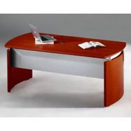 "Mayline Napoli Veneer Executive Desk 63"" Sierra Cherry - ND63-CRY"