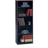 "Bush Business Furniture Series A Bookcase 5-Shelf 66"" Hansen Cherry - WC94465"