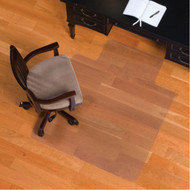 ES Robbins Hard Floor Straight Edge Chair Mat 45x53 - 132123