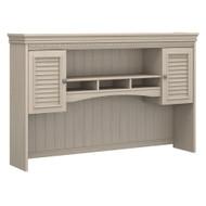 Bush Furniture Fairview Hutch for L Shaped Desk Antique White - WC53231-03
