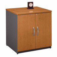 "Bush Business Furniture Series C Cabinet 30"" Natural Cherry - WC72496A"