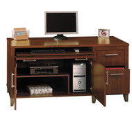 "Bush Somerset Collection Credenza 60"" Hansen Cherry - WC81729K"