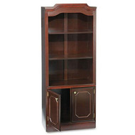 DMI Governor's Series Bookcase with Doors, Assembled - 7350-09