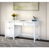Bush Broadview Collection Single Pedestal Desk - BDD254WH-03