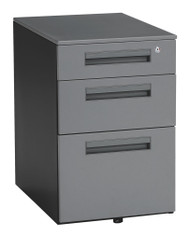 OFM 3-Drawer Steel Mobile Pedestal - 66300