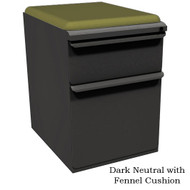 Marvel Mobile Pedestal with Seat Cushion Top Box/File - ZSMPBF19C