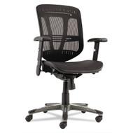 Alera Eon Series Multifunction Mid-Back Mesh Chair with Suspension Mesh Seat Black - EN4218