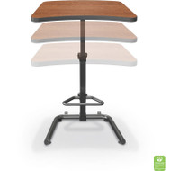 Balt Up-Rite Student Height Adjustable Sit and Stand Desk - 90532
