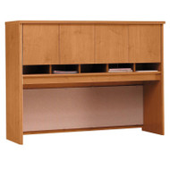 "Bush Business Furniture Series C Desk Hutch 4-Door 60"" Natural Cherry - WC72462K"