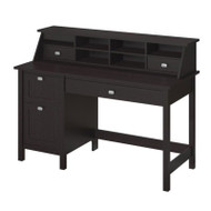 Bush Broadview Single Pedestal Desk & Organizer - BD005EO