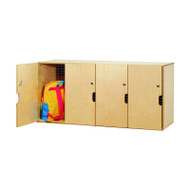 Whitney Brothers Locking Backpack Storage - WB0716