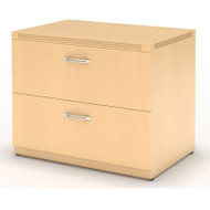 "Mayline Aberdeen Lateral File Cabinet 30"" Free Standing Maple - AFLF30-LMA"