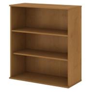 "Bush Business Furniture Bookcase 48""H 3-Shelf Natural Cherry -  BK4836NC"