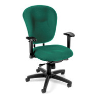CLEARANCE SPECIAL! OFM Executive Wide Mid-Back Task Chair - 635
