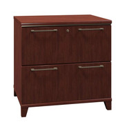 "Bush Enterprise 30""W Lateral File 2-Drawer  Harvest Cherry - 2954ACS-03"