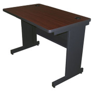 Marvel Pronto Training Table with Modesty Panel Back 48 x 30 - PTR4830M