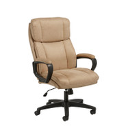 OFM Essentials Plush High Back Microfiber Office Chair Tan - ESS-3081-TAN