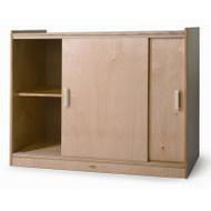 Whitney Brothers Sliding Doors Storage Cabinet - WB9698