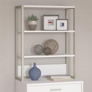 Kathy Ireland by Bush Method Collection Bookcase / Lateral File Hutch White - KI70206