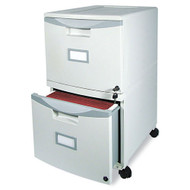MONTHLY SPECIAL! Storex 2-Drawer Mobile Filing Cabinet - STX61301B01C