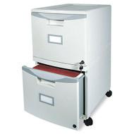 Storex 2-Drawer Mobile Filing Cabinet - STX61301B01C