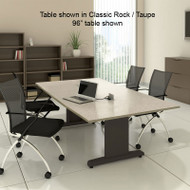 Mayline CSII Conference Table Rectangle 96W x 48D x 29H - R94R