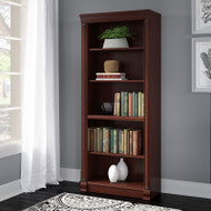 Bush Birmingham Executive Collection Bookcase 5-Shelf - WL26665-03