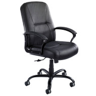 Safco Serenity Big and Tall Leather High Back Chair - 3500BL
