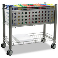 Advantus Vertiflex SmartWorx Mobile File Cart with Open Top - VF2000