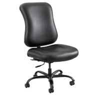 Safco Optimus Big and Tall Chair Black Vinyl - 3592BL