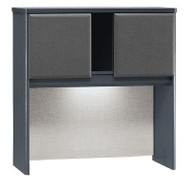"Bush Business Furniture Series A Hutch 36"" Slate - WC84837P"