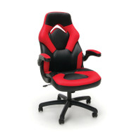 OFM Essentials by OFM Racing Style Leather Gaming Chair Red - ESS-3085-RED