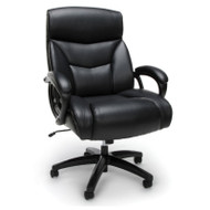 OFM Essentials Big and Tall Executive Leather Chair - ESS-6040