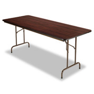 Alera Folding Table Mahogany - FT727230
