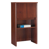 "Bush Business Furniture Series C Cabinet 24"" Hutch Hansen Cherry - WC24406"
