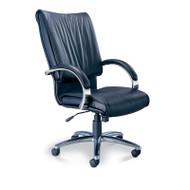 Mayline Mercado President Leather Chair - PR