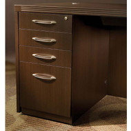 Mayline Aberdeen Pedestal File Assembled for Desk B/B/B/F Mocha - APBBF26