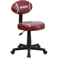 Flash Furniture Football Task Chair -  BT-6181-FOOT-GG
