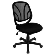 Flash Furniture Mid-Back Black Mesh Computer Task Chair - GO-WY-05-GG