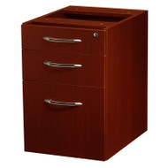 Mayline Aberdeen Pedestal File Suspended Assembled for Credenza Cherry Finish - APBF20-LCR