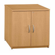 "Bush Business Furniture Series C Cabinet 30"" Light Oak - WC60396A"