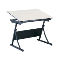"Safco Planmaster Height-Adjustable 60"" Drafting Table - 3948-3957"