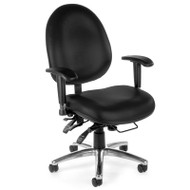 OFM Big & Tall 24-hour High Back Vinyl Computer Ergonomic Chair - 247-VAM