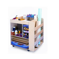 Whitney Brothers Mobile Art Supply Cart - WB0285