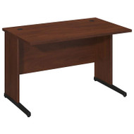"Bush Business Furniture Series C Elite Desk 48"" x 30"" Hansen Cherry - WC24550"